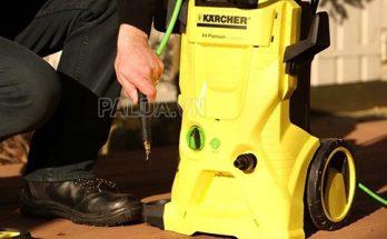 Người dùng có thể tự sửa chữa máy rửa xe karcher nếu nắm được 1 số kiến thức về máy