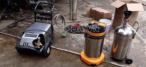 Thi công tiệm rửa xe chuyên nghiệp