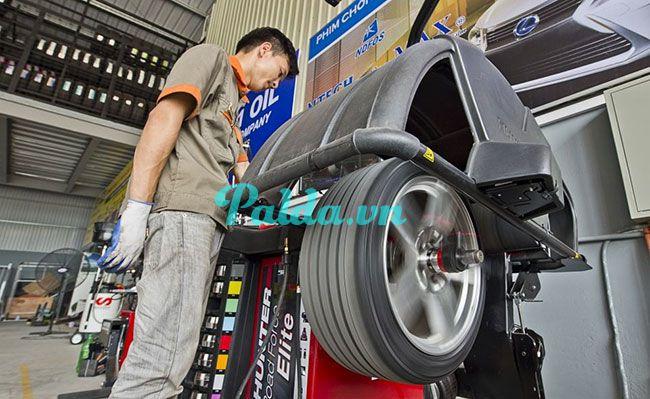 Cân bằng động lốp xe mang lại lợi ích gì