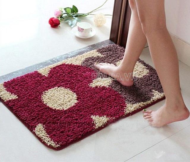 Cách vệ sinh thảm chùi chân