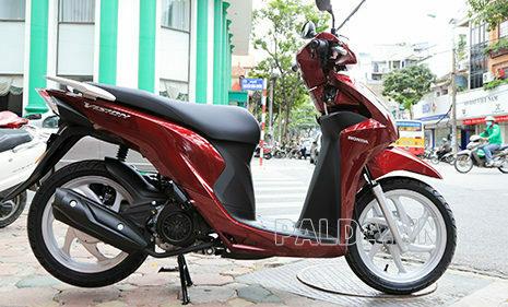 Xe máy Vision được nhiều người dùng ưa chuộng