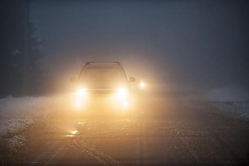Không nên khởi hành khi sương mù dày đặc
