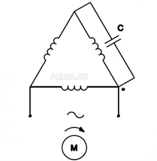 Cách đấu mô tơ điện 3 pha thành 1 pha cực kỳ đơn giản