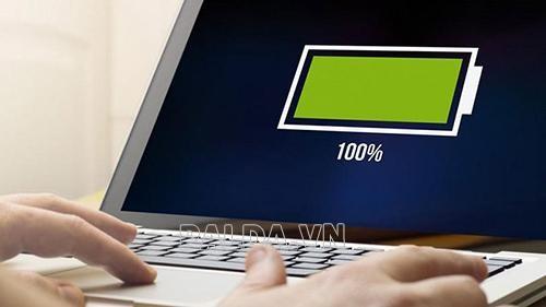 cách kiểm tra pin laptop thường xuyên giúp pin đỡ bị chai pin