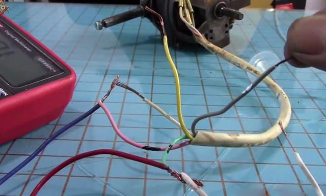 dây điện của quạt bàn 3 số