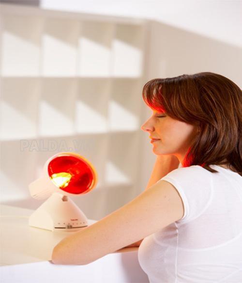 Đèn hồng ngoại giúp các bạn giảm thiểu các vấn đề về da