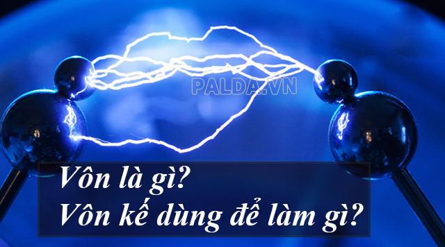 vôn là gì nó có liên quan gì đến dòng điện