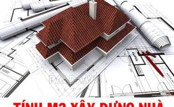 trước khi xây nhà bạn nên tính số mét vuông của căn nhà