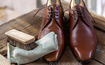 Làm sạch giày da một cách đơn giản tại nhà