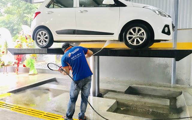 Cầu nâng rửa xe thiết bị hiện đại cho gara sửa xe