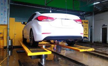 cầu nâng rửa xe ấn độ