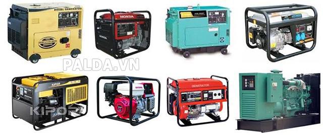 các sản phẩm máy phát điện đồng bộ rất đa dạng