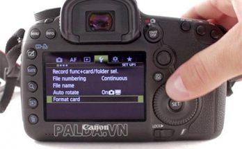 những cách sửa máy ảnh bị lỗi như thế nào