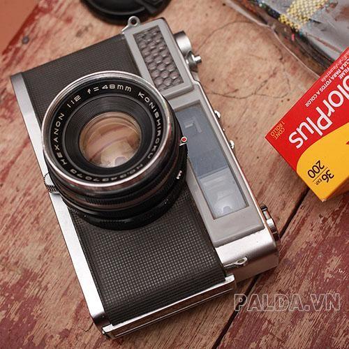 Máy ảnh Rangefinder chụp ảnh sắc nét