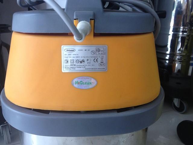 tem chống hàng nhái của sản phẩm máy hút bụi công nghiệp hi clean