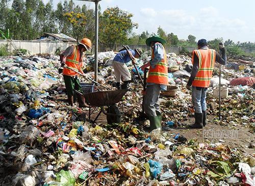thu gom rác thải sẽ góp phần vệ sinh môi trường sống