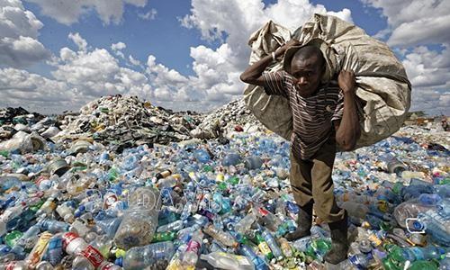 rác thải nhựa đang là vấn đề của toàn xã hội