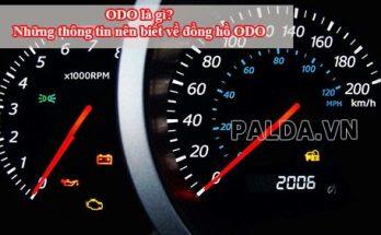 Odo chính là đồng hồ đo quãng đường mà xe đã đi được
