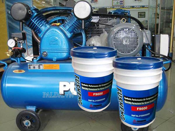 dầu nhớt sử dụng cho máy nén khí puma