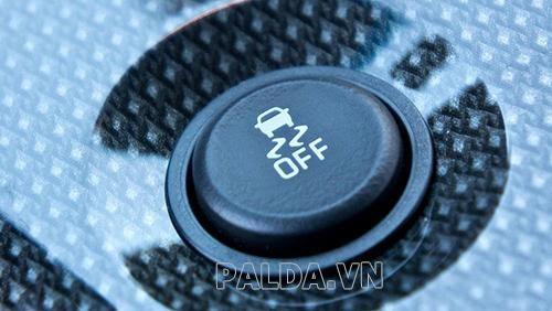 nút điều khiển traction control