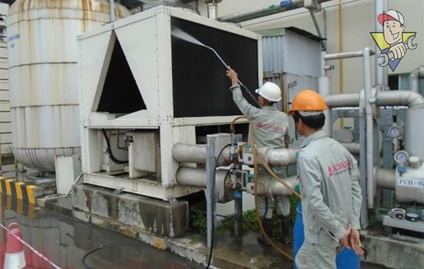 xử lý nước tháp tản nhiệt