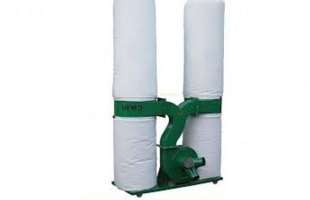 cấu tạo máy hút bụi công nghiệp 2 túi vải