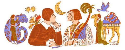 Google Doodle vinh danh nữ thi sĩ Else Lasker-Schüler