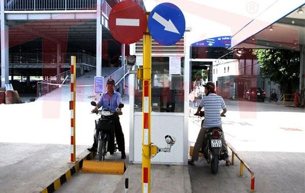 Hệ thống kiểm soát bãi đỗ xe máy