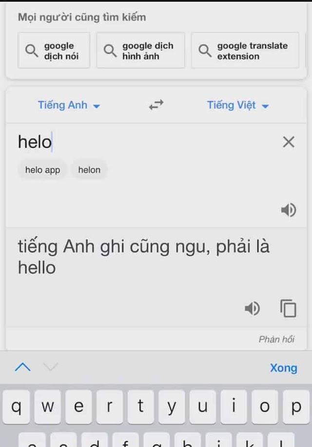 Google dịch Tra từ không ra kết quả lại còn bị chửi ngược lạ