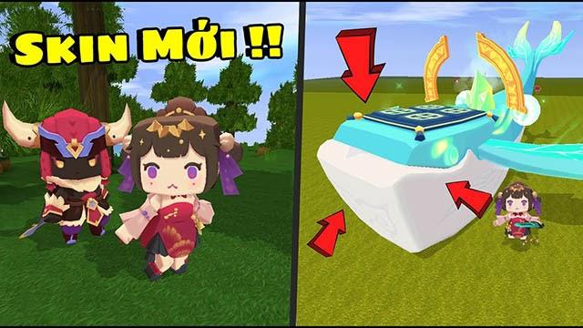 Skin mới trong game mini word