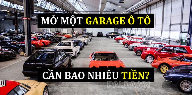 mở gara ô tô