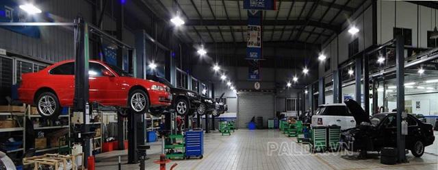 Thiết bị nâng hạ không thể thiếu trong gara sửa chữa ô tô