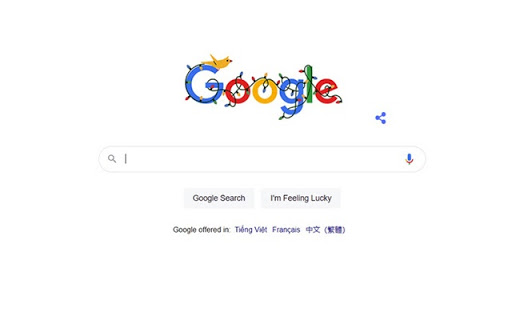 Mùa lễ hội cuối năm 2020 Google Doodle