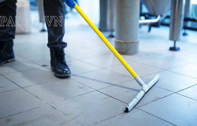 Sàn gạch được sử dụng khá phổ biến hiện nay