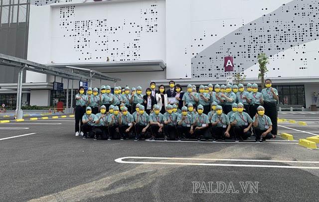 Công ty CPTM và Làm Sạch Công Nghiệp Hải Phòng làm việc tại AEON Mall Hải Phòng