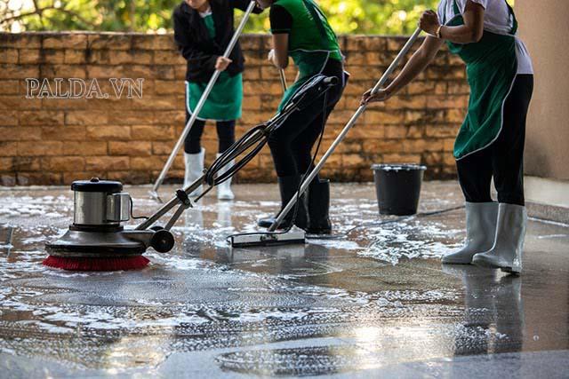 Công ty vệ sinh công nghiệp giá rẻ tại Hải Phòng An Lạc