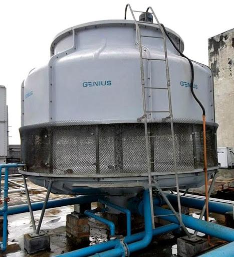 Tháp giải nhiệt Genius dễ sử dụng và lắp đặt