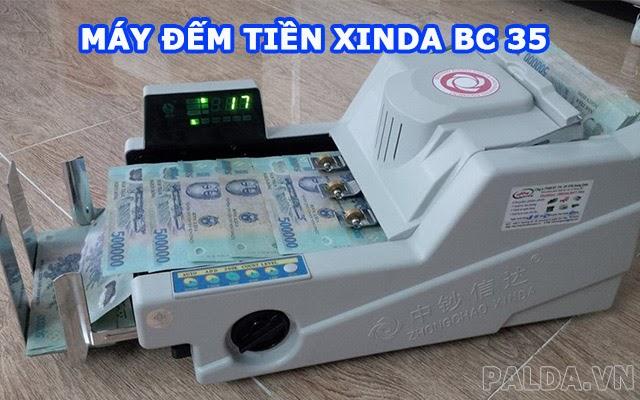 máy đếm tiền xinda bc 35 tốt nhất