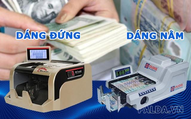 mua máy đếm tiền theo kiểu dáng
