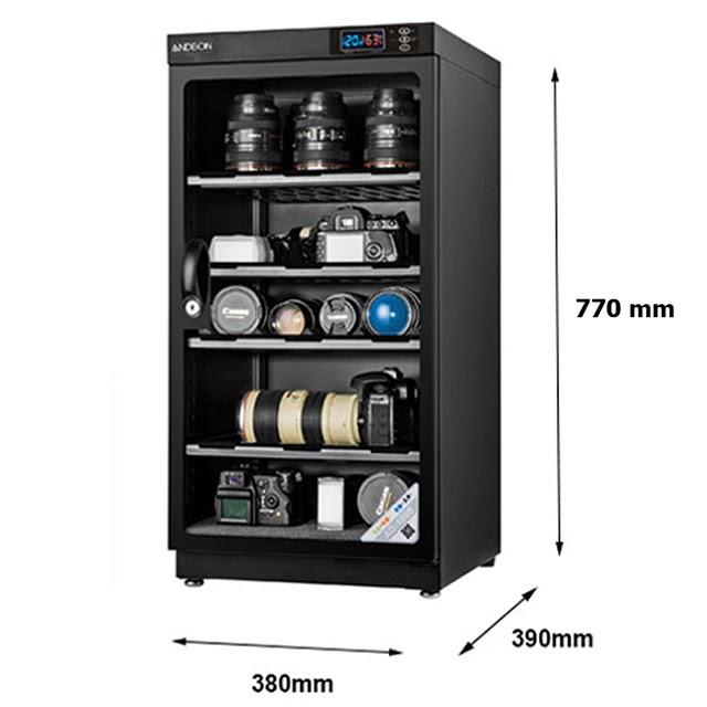 Tủ chống ẩm 100 lít Andbon AD-100S