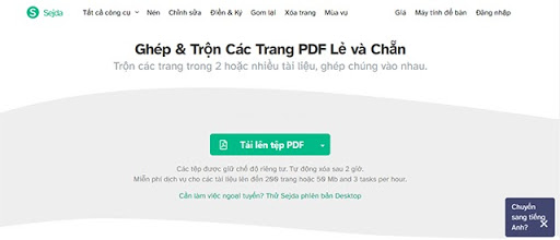 ghép nhiều file pdf