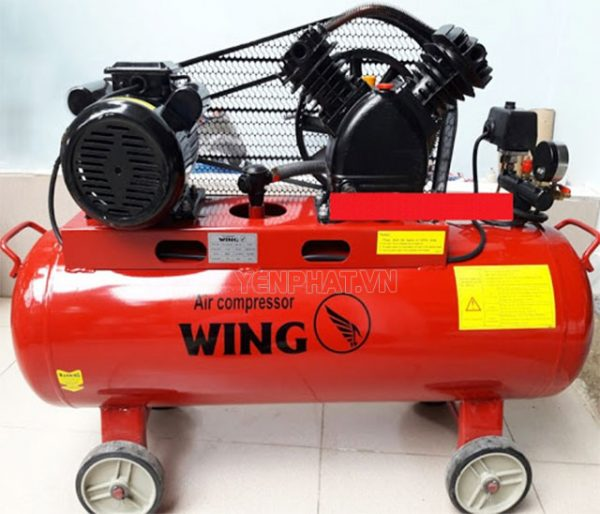 Máy nén khí mini dây đai Wing TW-V-0.12/8-70L
