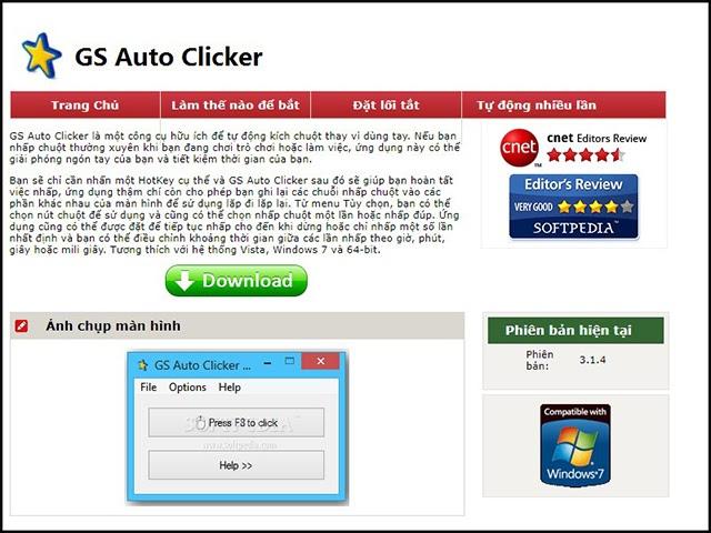 tải auto click