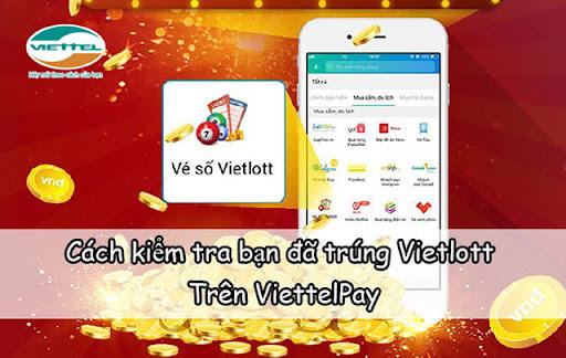 Hướng dẫn kiểm tra mã vé Vietlott trên VittelPay