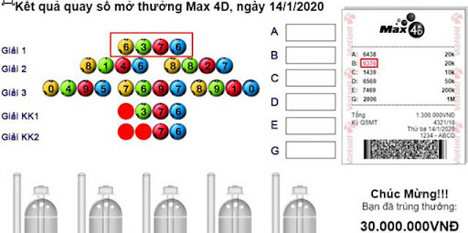 Cách dò số Vietlott Max 4D